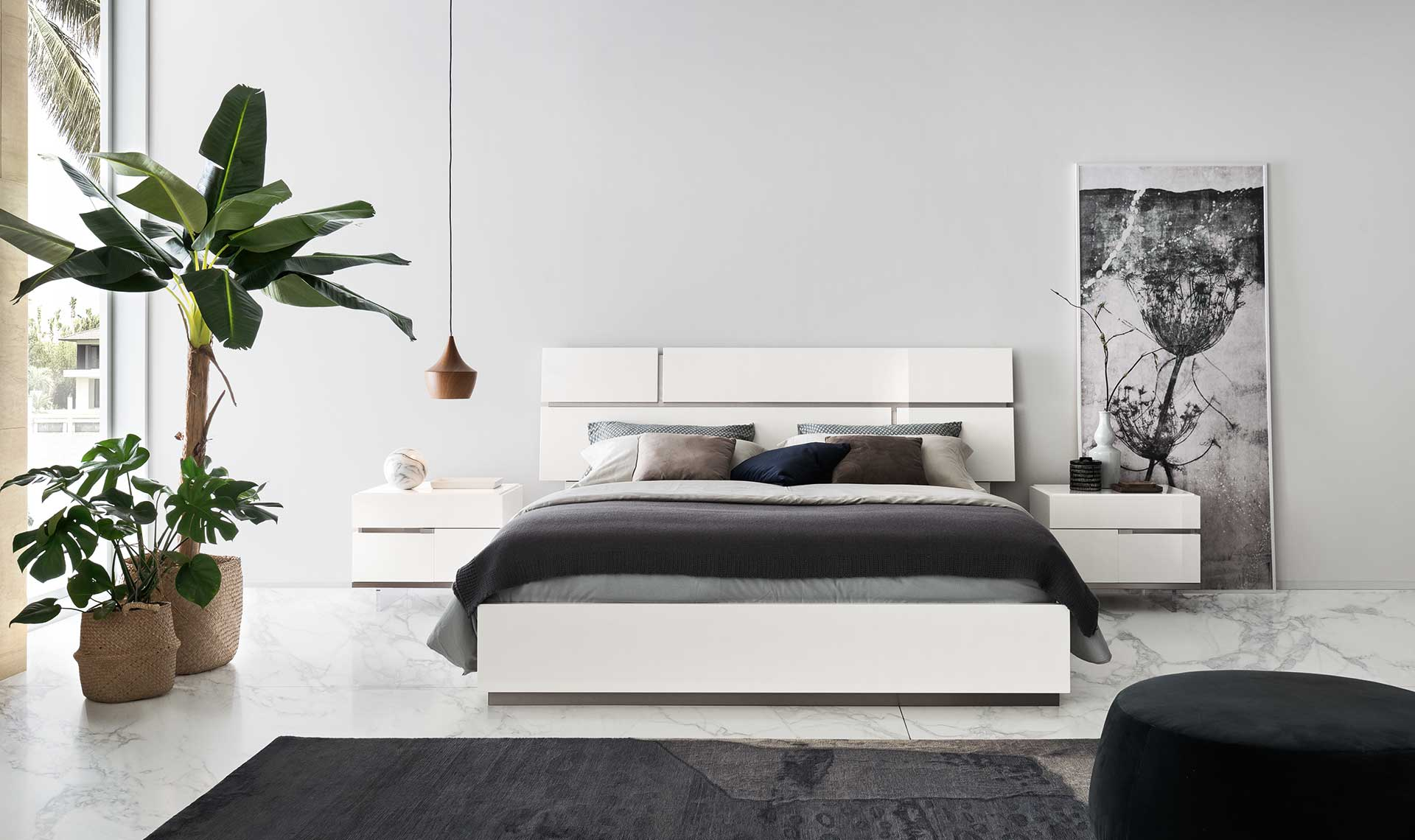 Artemide Bed - Ca.King Size