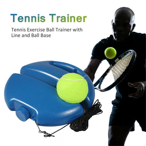 Solo Tennis Trainer without Balls