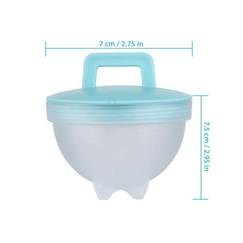 Egg Cooking Mold with Brush and Lid