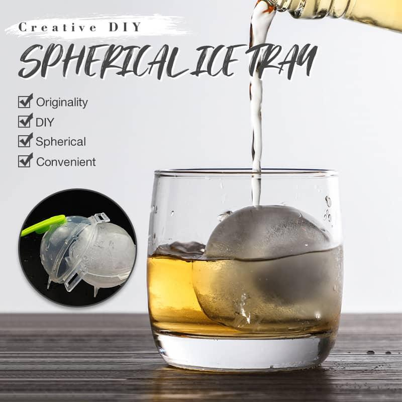 Creative DIY Spherical Ice Mold