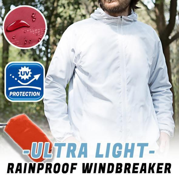 Unisex Ultra-Light Rainproof Windbreaker