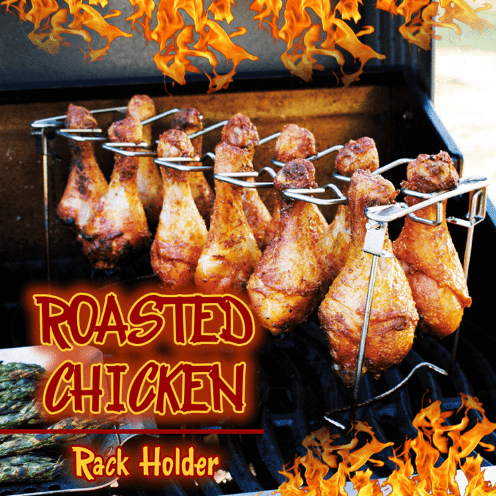 Roasted Chicken Drumsticks Holder