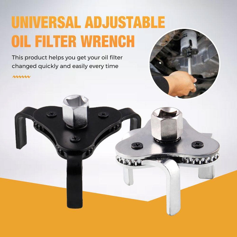 Universal Adjustable Oil Filter Wrench