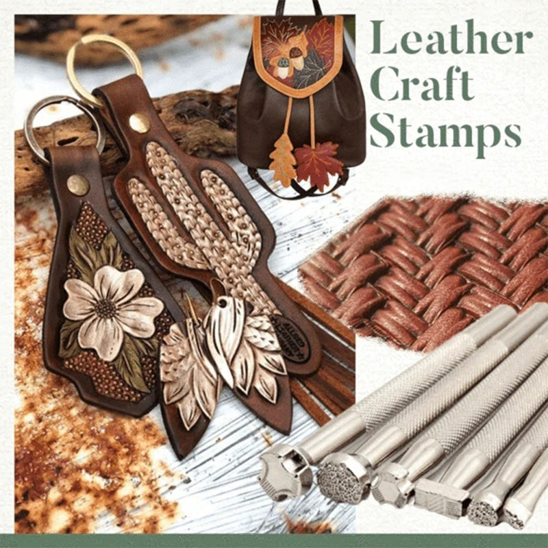 New Leather Craft Stamps