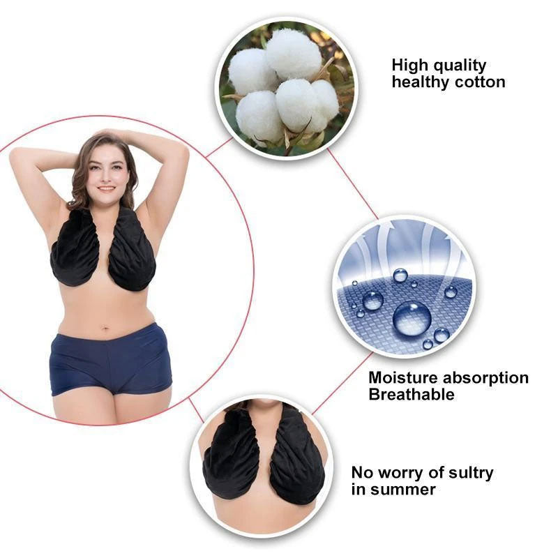 Wearable Towel Bra