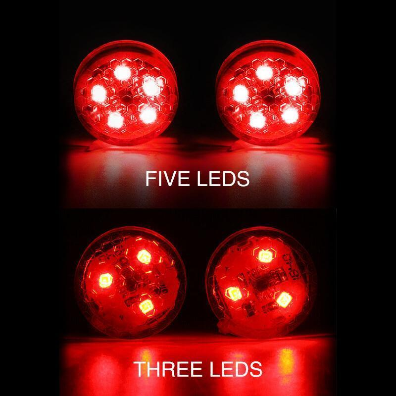 Universal Car Door led Opening Warning Signal Light (2pcs)