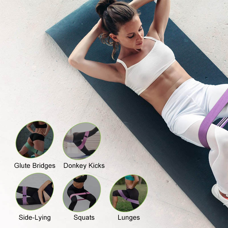 Fabric Resistance Bands Set