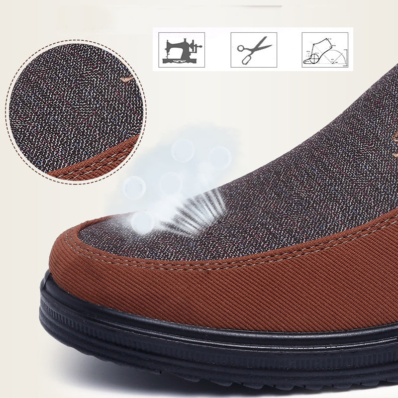 Breathable Canvas Walking Shoes
