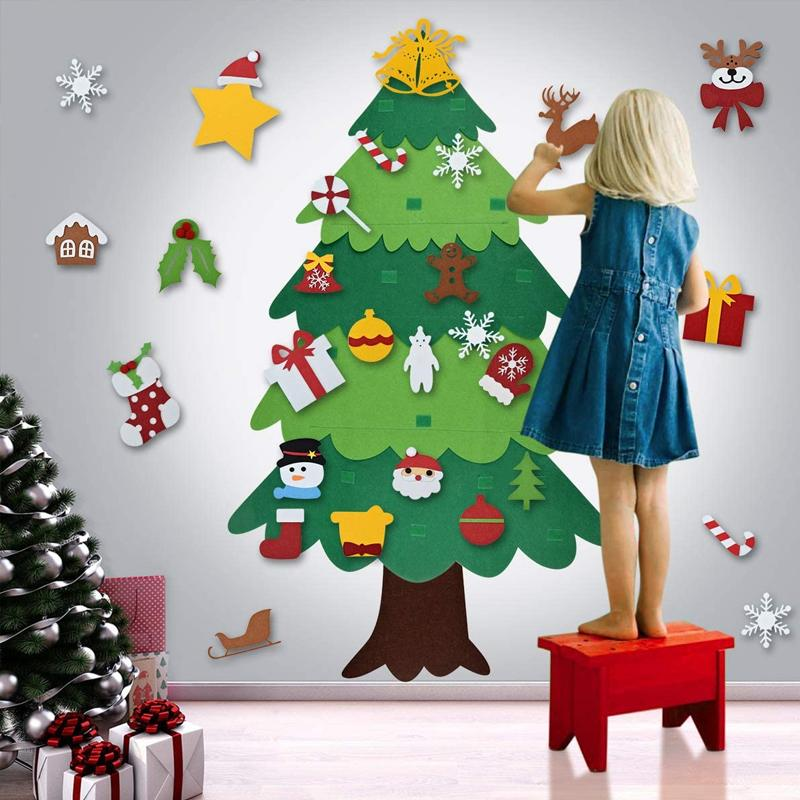 DIY Felt Christmas Tree (2020 NEW UPGRADED)