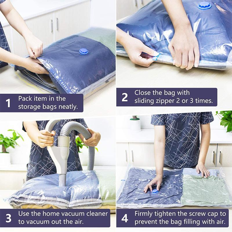 Vacuum Storage Bags with Air Pump