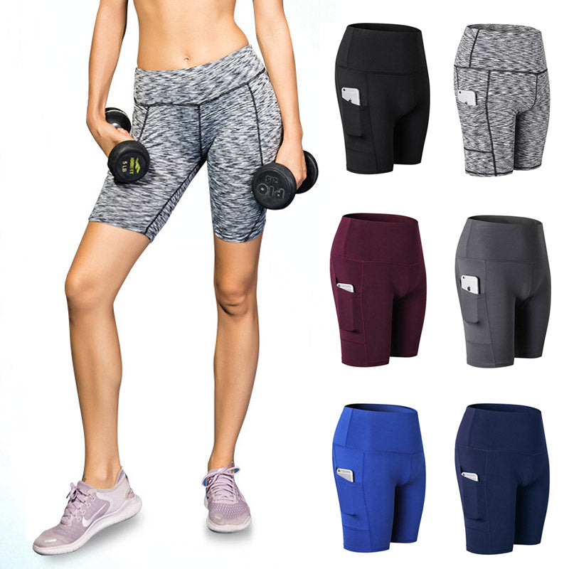 Hi-Rise Workout Shorts