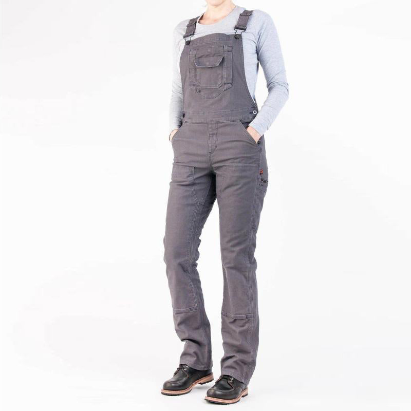WOMEN'S STRETCH CANVAS CASUAL WORKING OVERALL PANTS