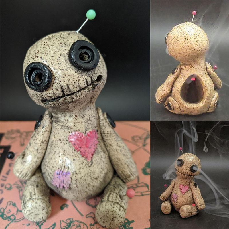 Voodoo Doll Cone Burner, Incense Burner