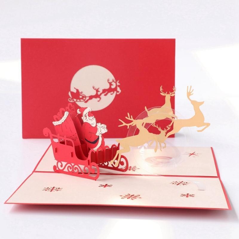 3D Christmas Pop Up Cards
