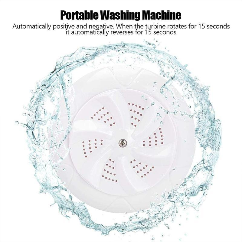Portable Ultrasonic Turbo Washing Machine