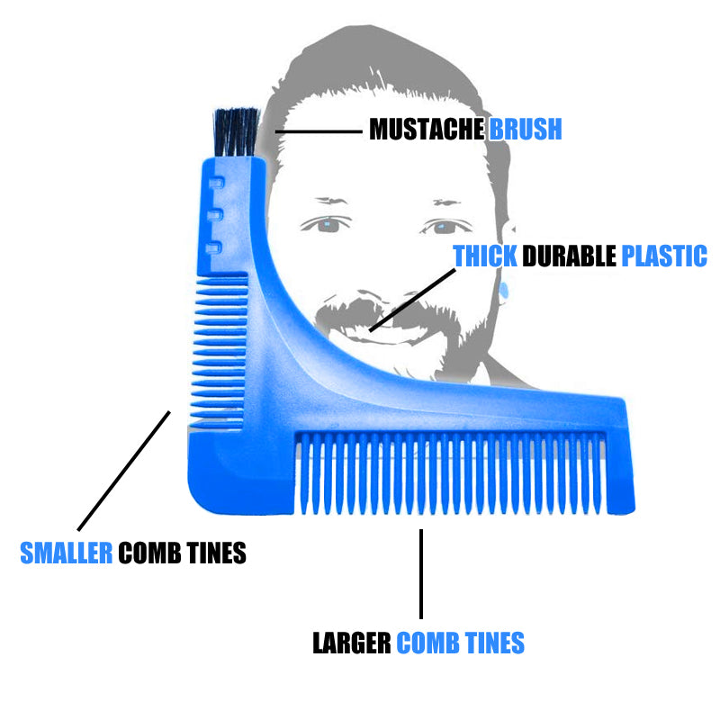 Beard Set Tool Comb