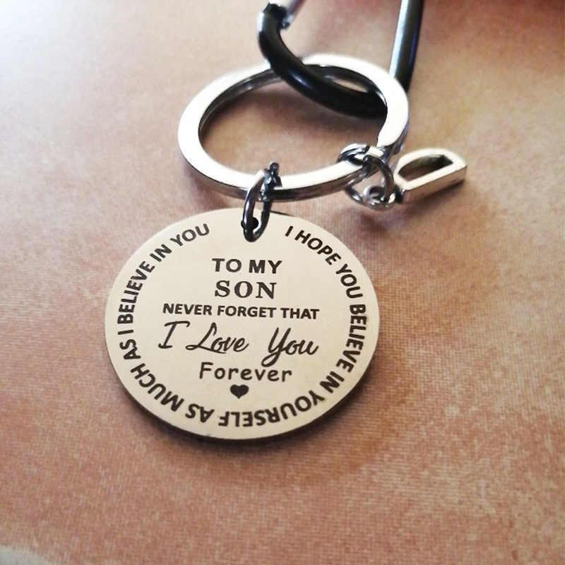 TO MY SON/DAUGHTER Keychain