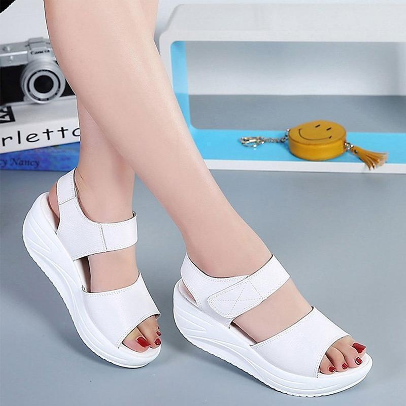 Comfortable Platform Wedge Sandal With Style