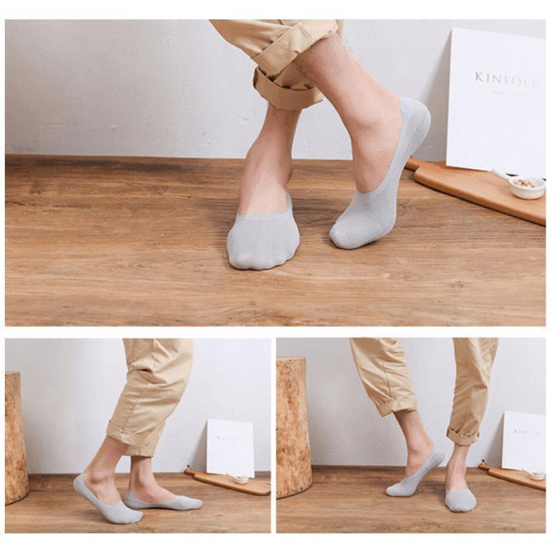 Unisex Breathable Ice Silk Socks