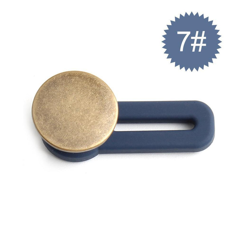 Jeans Retractable Buttons Extension Buckle