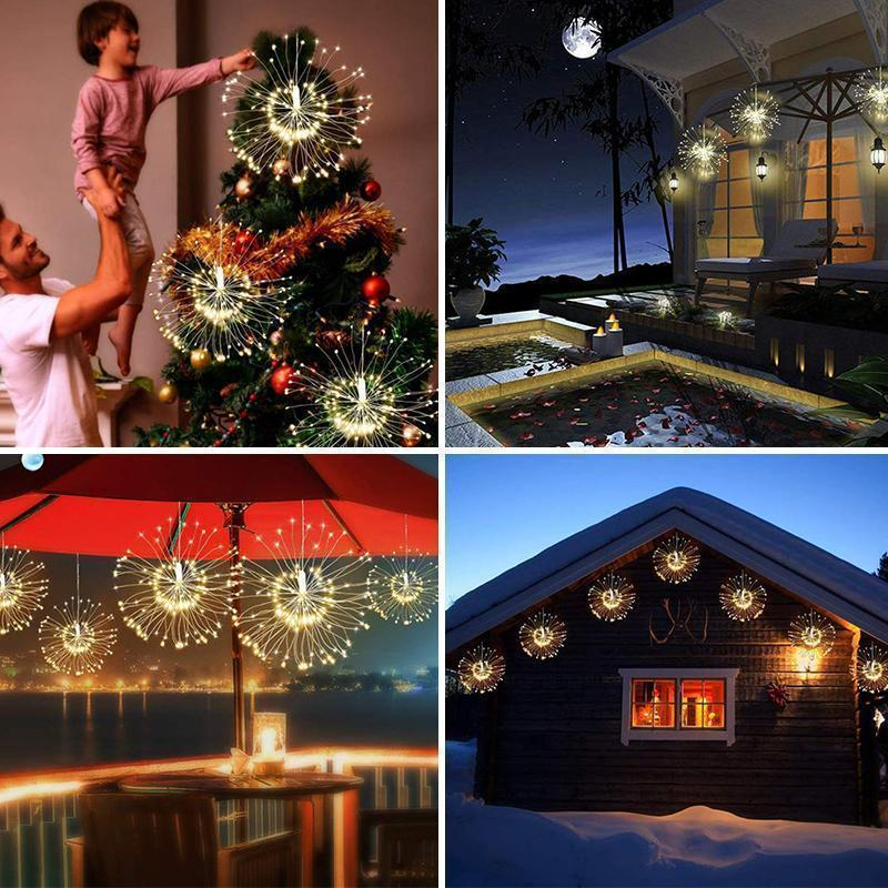 Christmas Sale - LED Copper Wire Firework Lights
