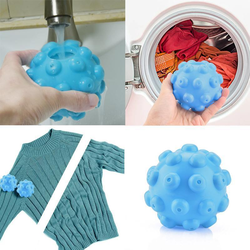 Laundry Dryer Fabric Softening Ball Steamy Ball