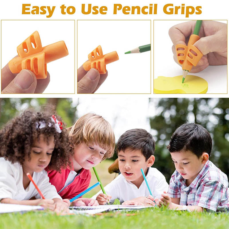 Silicone Pencil Grips(16 pcs)