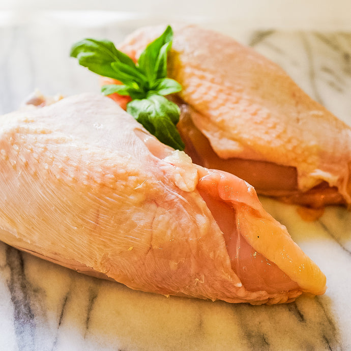 Chicken Breast Bone-In Skin-On $10 lb
