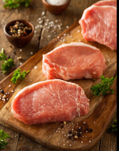 Heritage Pork Breakfast Chops Boneless $16 lb