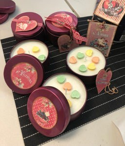 Valentine Farm Candles (Pink Sunsets) $15