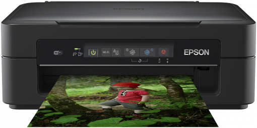 EPSON SMALL IN ONE XP-255 met EXTRA inkt-set (3xkleur + 1x zwart) + 1x zwart