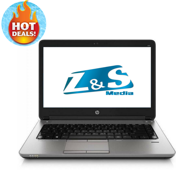 Hp Probook 645 G1 | AMD A8 QuadCore | 4GB RAM | 128GB SSD | Windows 10