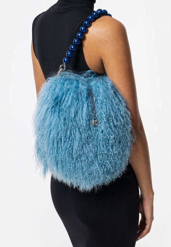NINI - Pearl Baby Blue Pombag