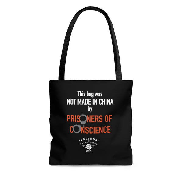 'Not Made in China' Tote in Black