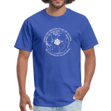 Be a Friend - Men's T-Shirt [Dark] - royal blue