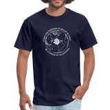 Be a Friend - Men's T-Shirt [Dark] - navy