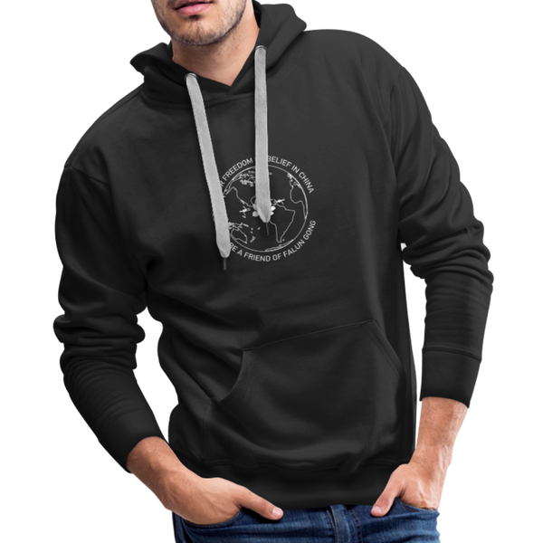 Be a Friend | Men's Premium Hoodie - black