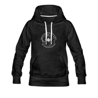 Be a Friend | Women's Premium Hoodie - charcoal gray