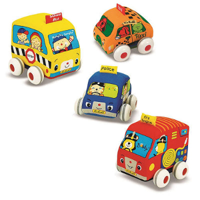 Melissa and Doug Pull Back Vehicles
