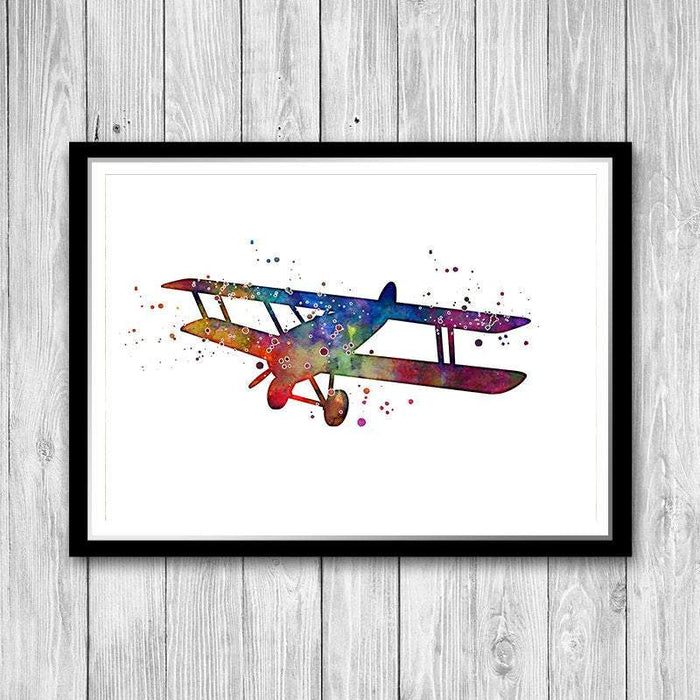 Aircraft Wall Art for Kids Room