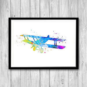 Aircraft Wall Art for Kids Room - PrintsFinds