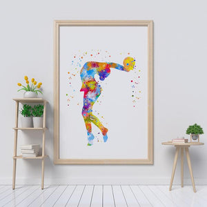 Ball Rhythmic Gymnastics - PrintsFinds