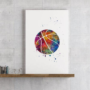 Basketball ball print - PrintsFinds