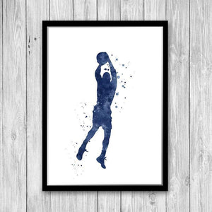 Basketball poster - PrintsFinds