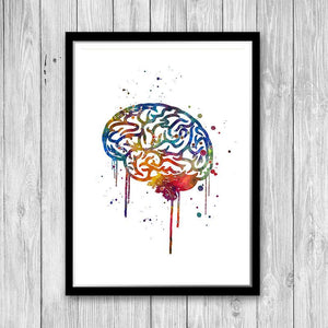 Brain Print - PrintsFinds