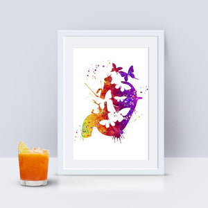 Butterflies in the Stomach - PrintsFinds