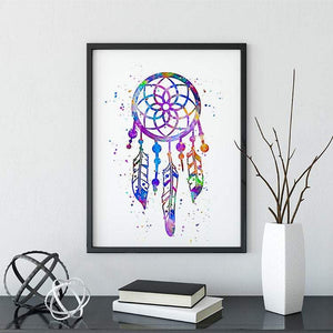 Dreamcatcher Print wall art for Nursery Decor - PrintsFinds