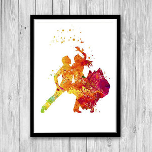 Flamenco art poster, Flamenco dancer print - PrintsFinds
