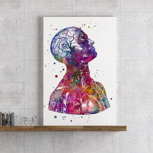 Human Anatomy Art Head and Neck - PrintsFinds