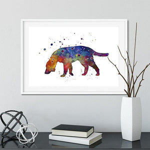 Irish Setter Watercolor Print - PrintsFinds